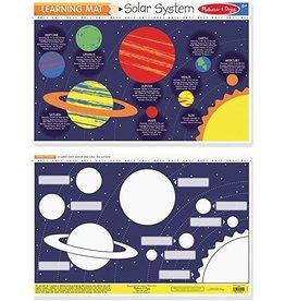 Melissa & Doug Learning Mat Solar System