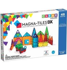 Magna-Tiles Magna-Tiles Clear Colours DX 48 pc
