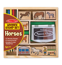 Melissa & Doug Melissa & Doug: Horses Stamp Set