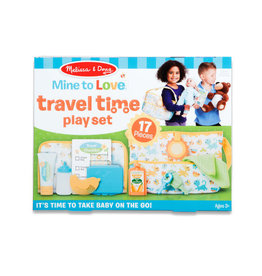 Melissa & Doug Melissa & Doug: Mine to Love Travel Time Play Set