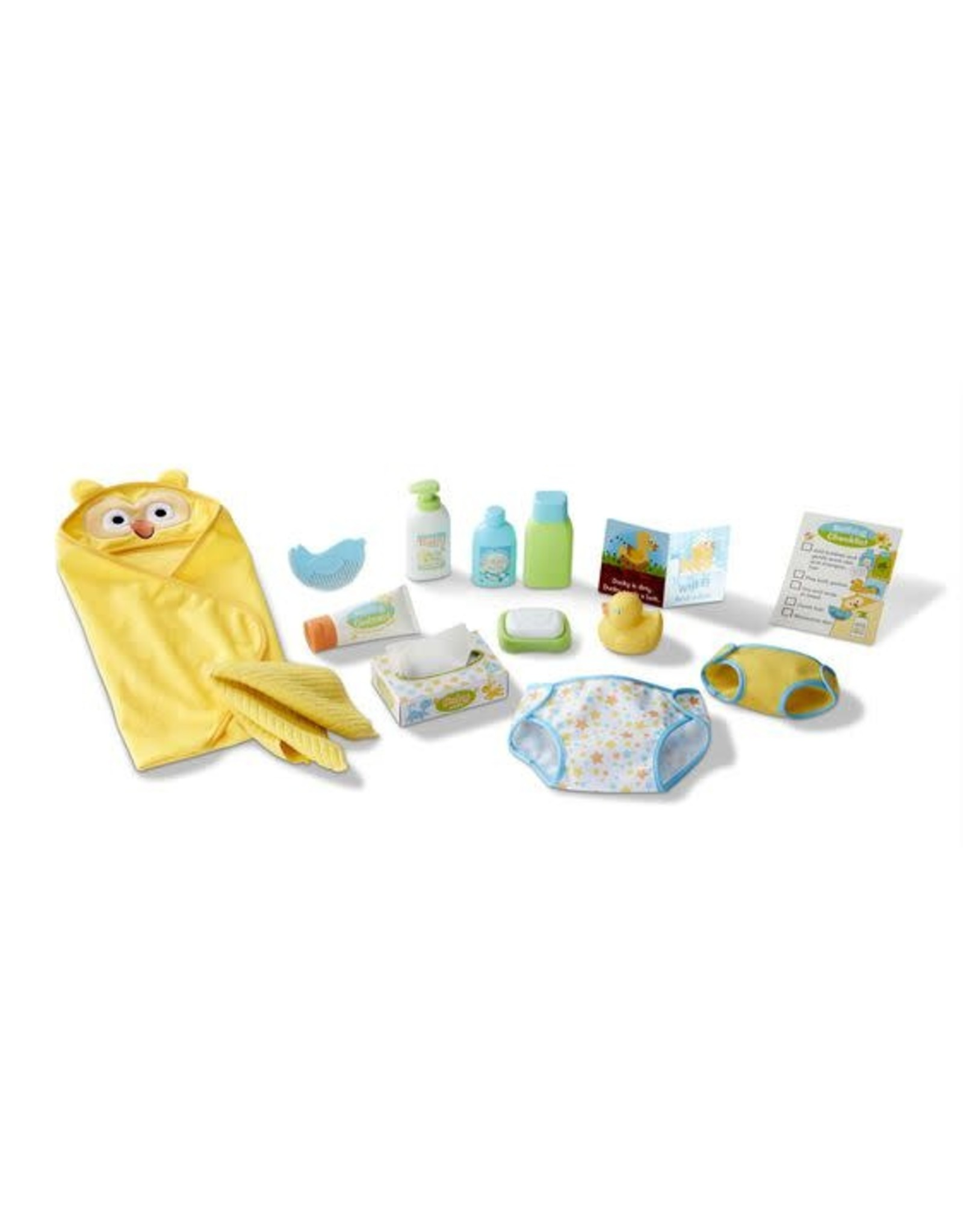 Melissa & Doug Mine to Love Changing & Bathing Play Time