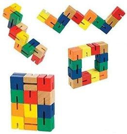 Toysmith Wooden Fidget Puzzle