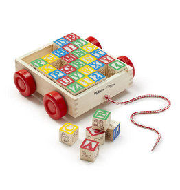 Melissa & Doug Melissa and Doug: Wooden ABC Block Cart