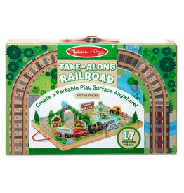 Melissa & Doug Melissa & Doug: Take-Along Tabletop - Railroad