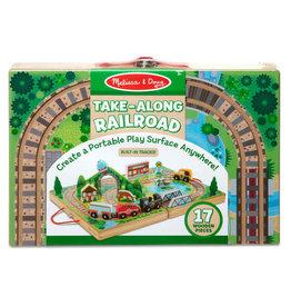 Melissa & Doug Take-Along Tabletop - Railroad
