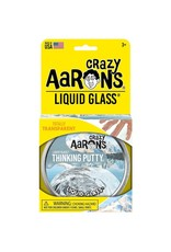 "Crazy Aaron's Crazy Aaron's 4"" Tin Liquid Glass - Transparent"