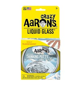 "Crazy Aaron's Crazy Aaron's 4"" Tin Liquid Glass - Transparent"