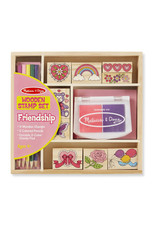 Melissa & Doug Melissa & Doug: Wooden Friendship Stamp Set