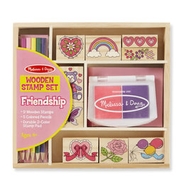 Melissa & Doug Melissa & Doug: Wooden Friendship Stamp Set