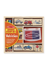 Melissa & Doug Melissa & Doug: Vehicle Stamp Set