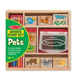 Melissa & Doug Melissa & Doug: Pets Stamp Set
