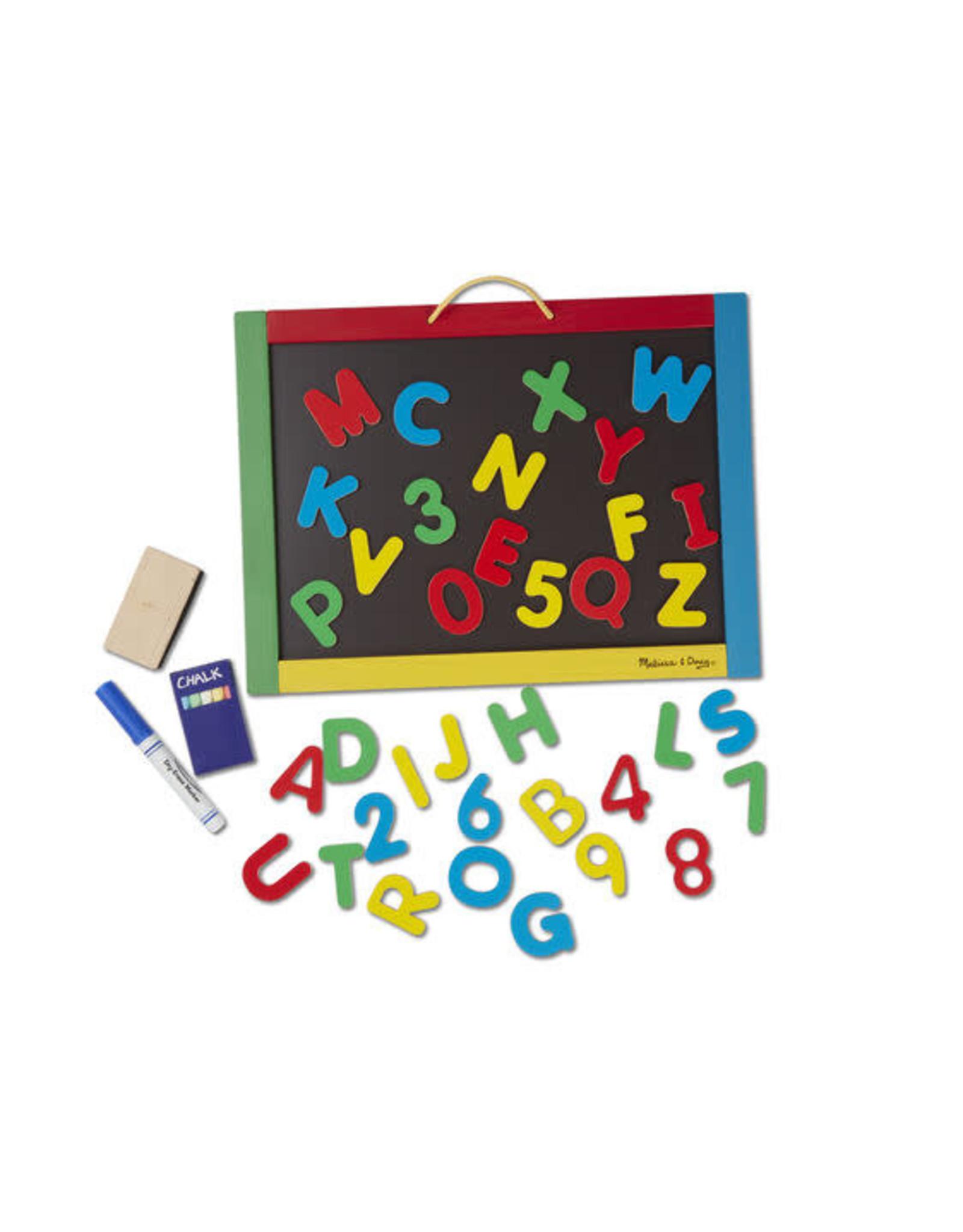 Melissa & Doug Melissa & Doug: Magnetic Chalk & Dry-Erase Board