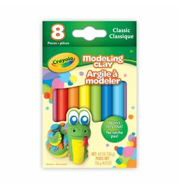 Crayola Modeling Clay, 8 Classic Colours