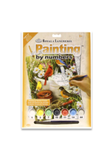 Royal & Langnickel Paint by Number: Garden Birds