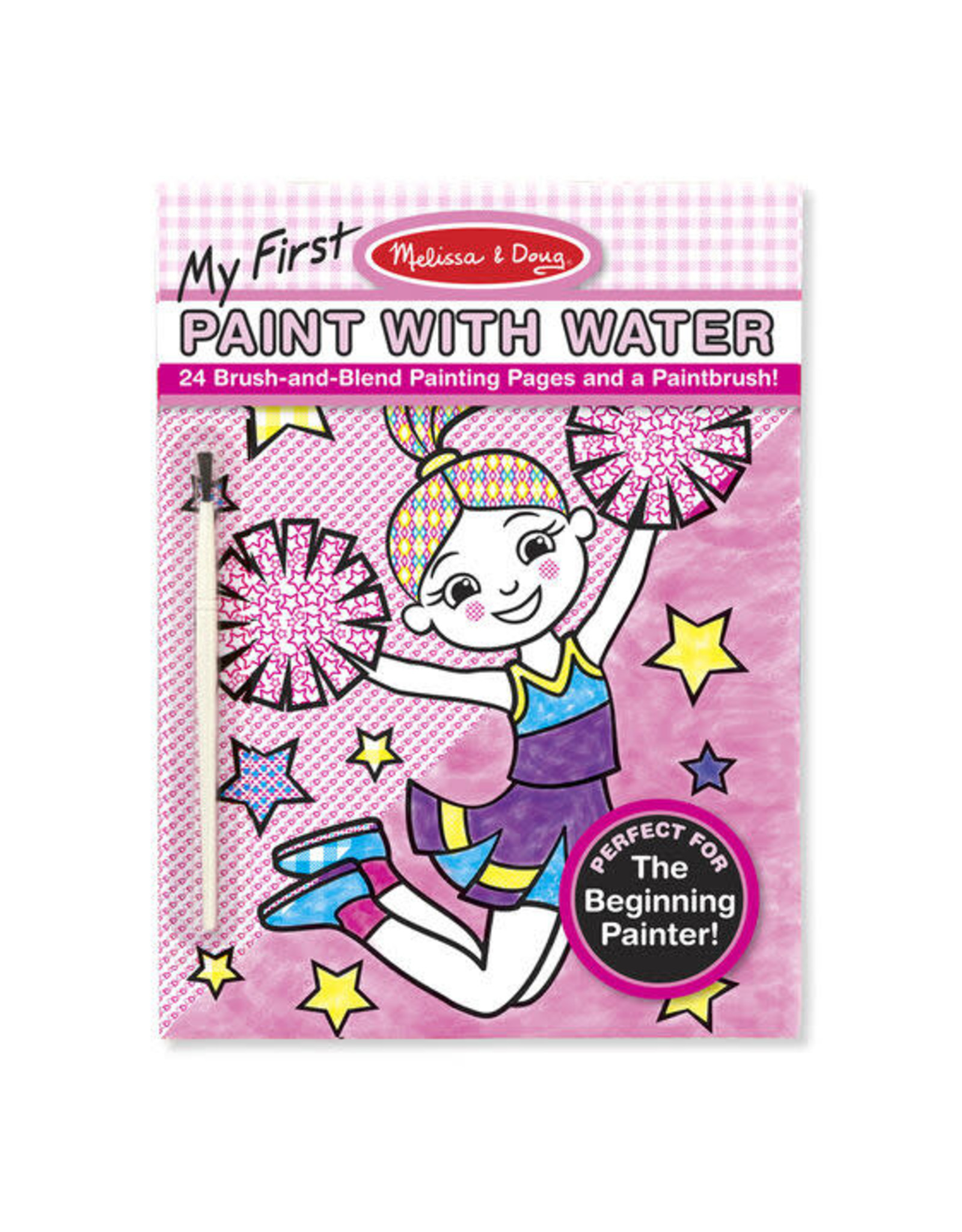 Melissa & Doug My First Paint with Water Pink