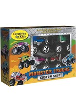 Creativity For Kids Monster Trucks Custom Shop