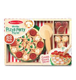 Melissa & Doug Melissa & Doug: Wooden Pizza Party