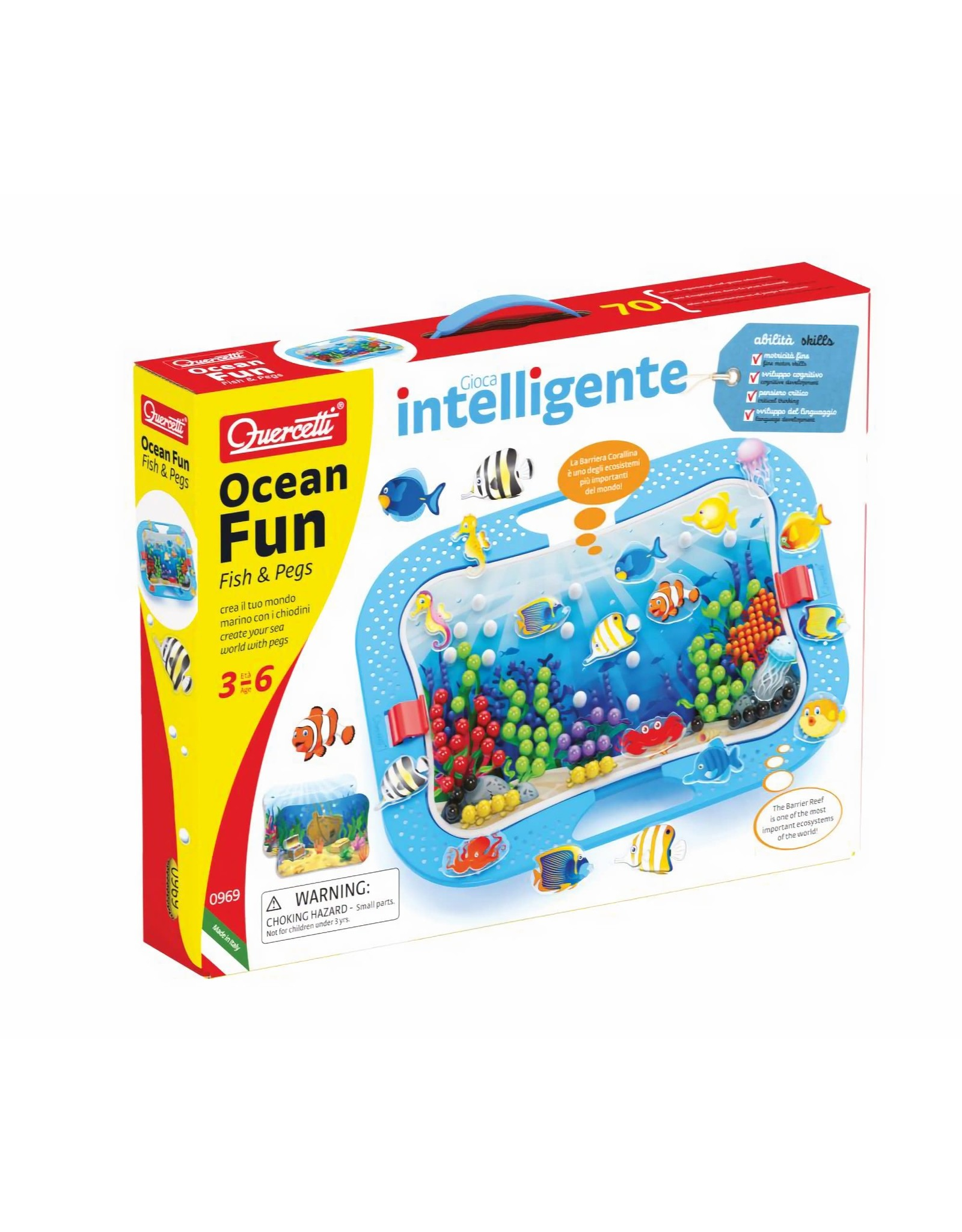 Ocean Fun - Fish & Pegs