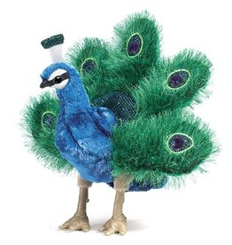 Folkmanis Folkmanis Small Peacock Puppet
