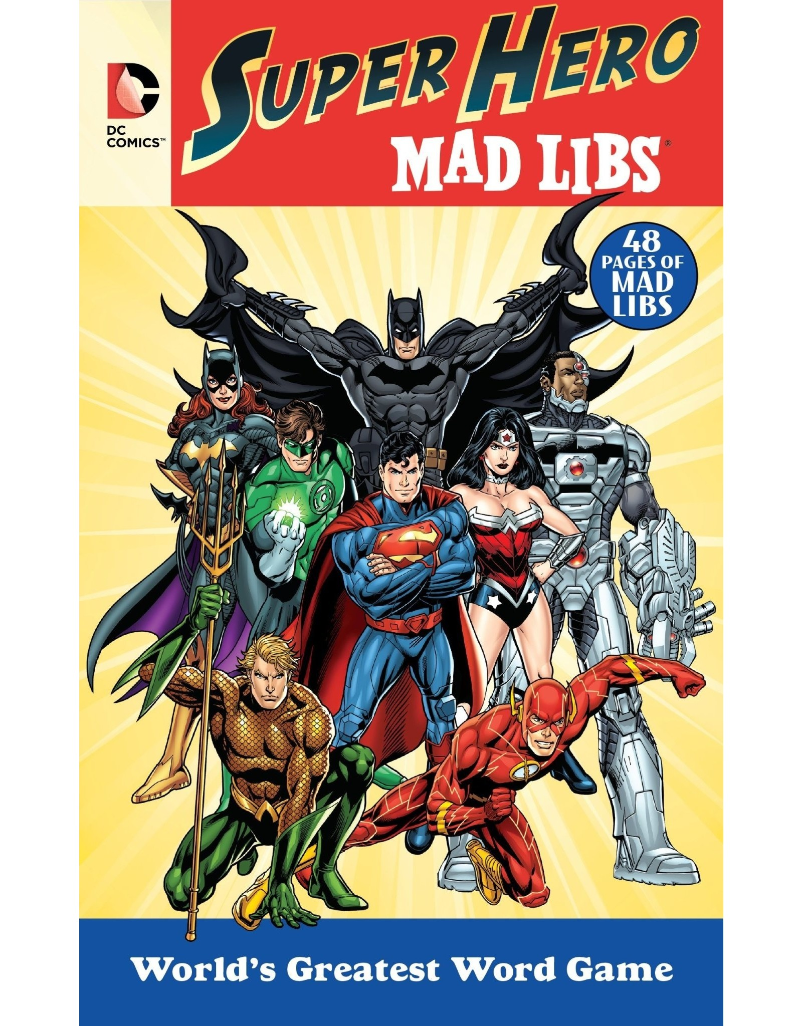 Mad Libs DC Comics Super Hero Mad Libs