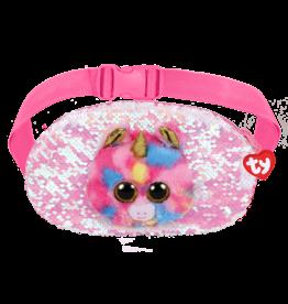 Ty Fantasia - sequin belt bag