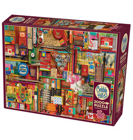 Cobble Hill Vintage Art Supplies 2000 pc