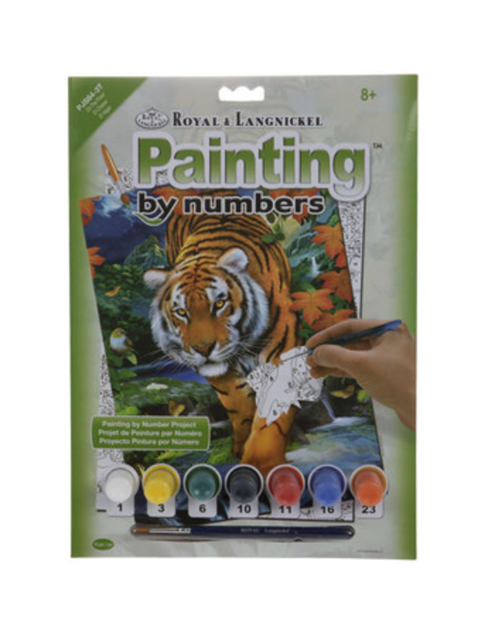 Royal & Langnickel Paint by Number: On the Prowl