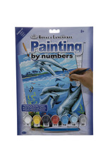 Royal & Langnickel Paint By Numbers Dolphins
