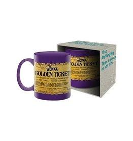 NMR Willy Wonka Golden Ticket Boxed Mug