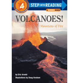 Step Into Reading Volcanoes! Mountains of Fire S4