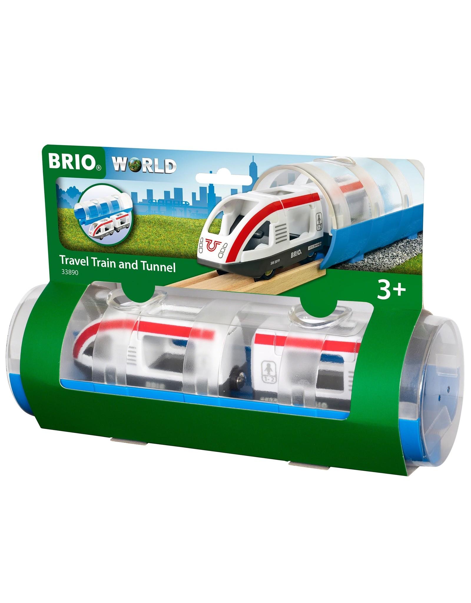 Brio BRIO Travel Train and Tunnel