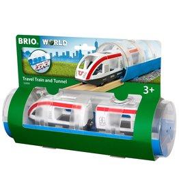 Brio Travel Train and Tunnel
