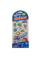 Peaceable Kingdom Space Walk Foil Stickers