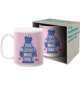 Sesame Street - Inhale Cookies Boxed Mug