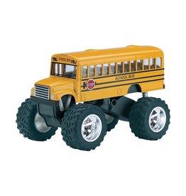 Schylling Die Cast Big Wheels School Bus