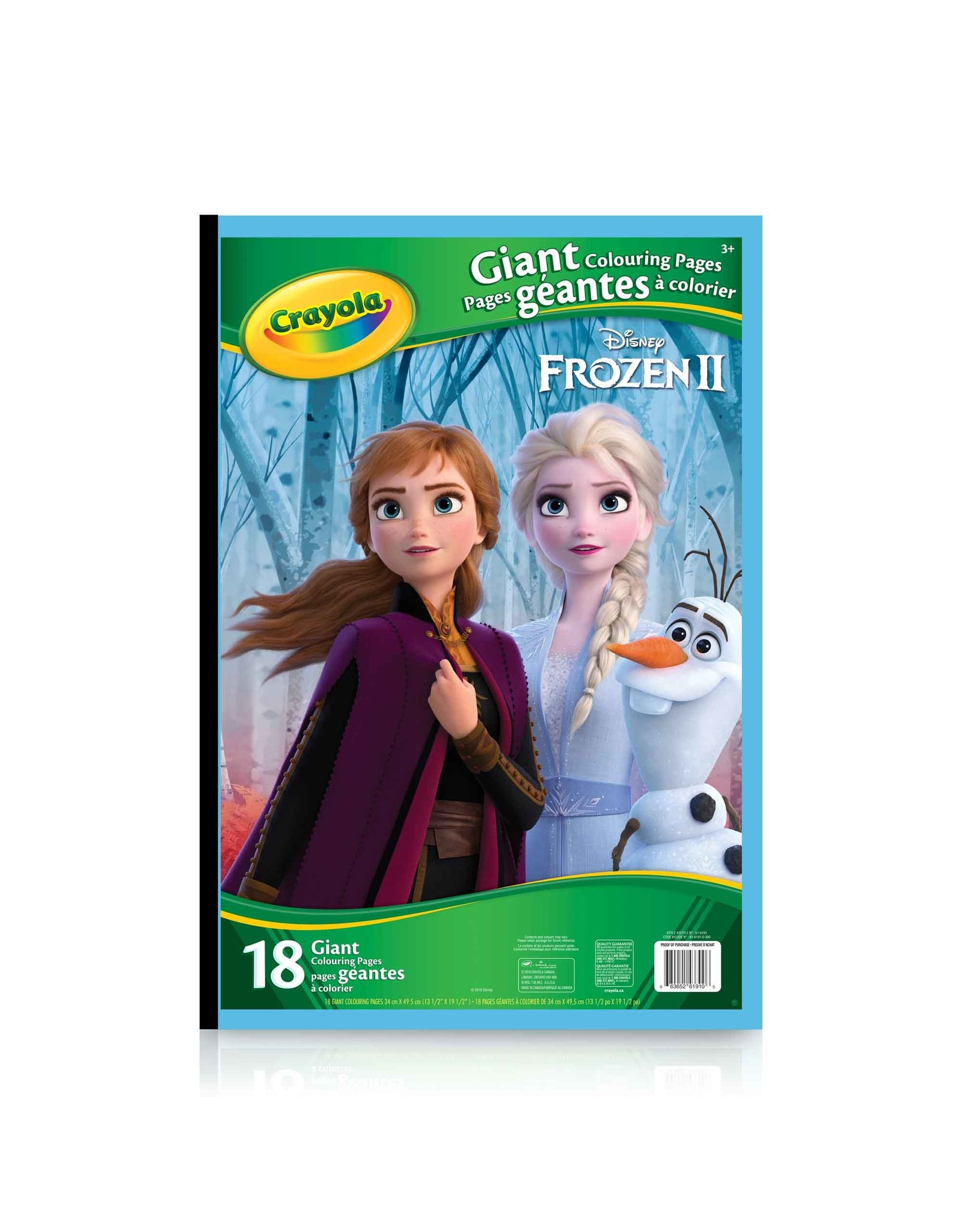 Crayola Giant Colouring Pages Frozen 2