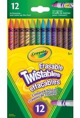 Crayola Crayola Erasable Twistables Coloured Pencils - 12 pack