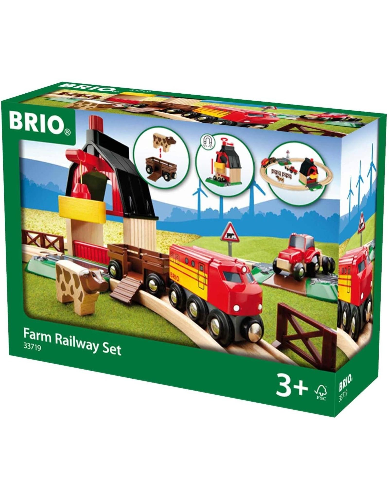 Brio BRIO Farm Railway Set