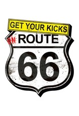 Get Your Kicks on Route 66 Funky Chunky Magnet
