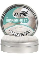 """Crazy Aaron's Crazy Aaron's 4"""" Tin Speckled Egg - Glow in the Dark"""