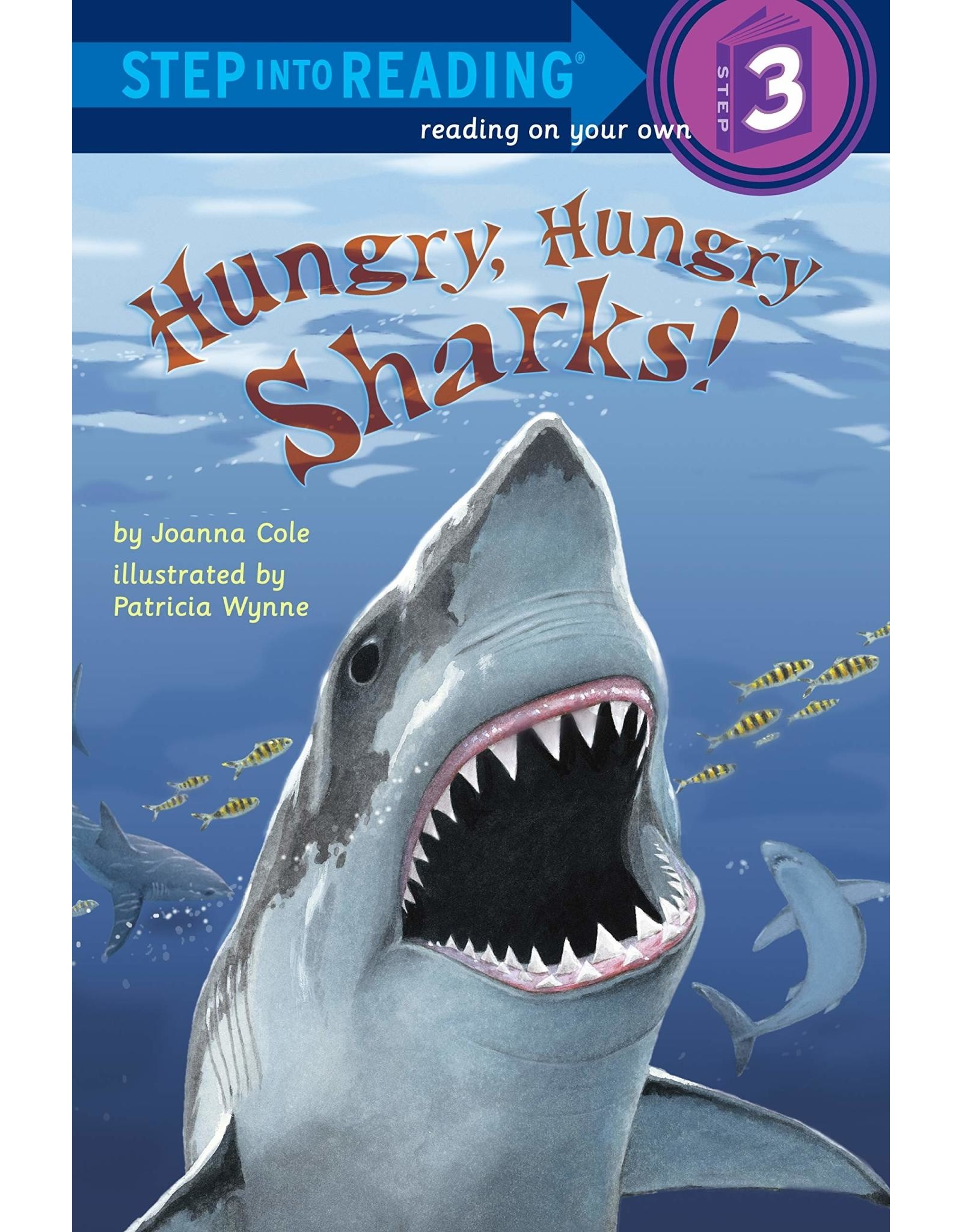 Step Into Reading Hungry, Hungry Sharks S3
