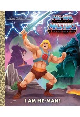 Little Golden Books I am He-Man! LGB