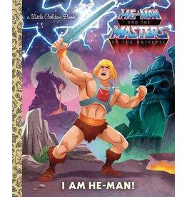 Little Golden Books I am He-Man! LGB