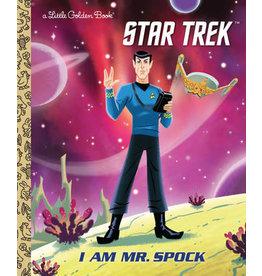 Little Golden Books I am Mr. Spock LGB