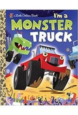 Little Golden Books I'm a Monster Truck Little Golden Book