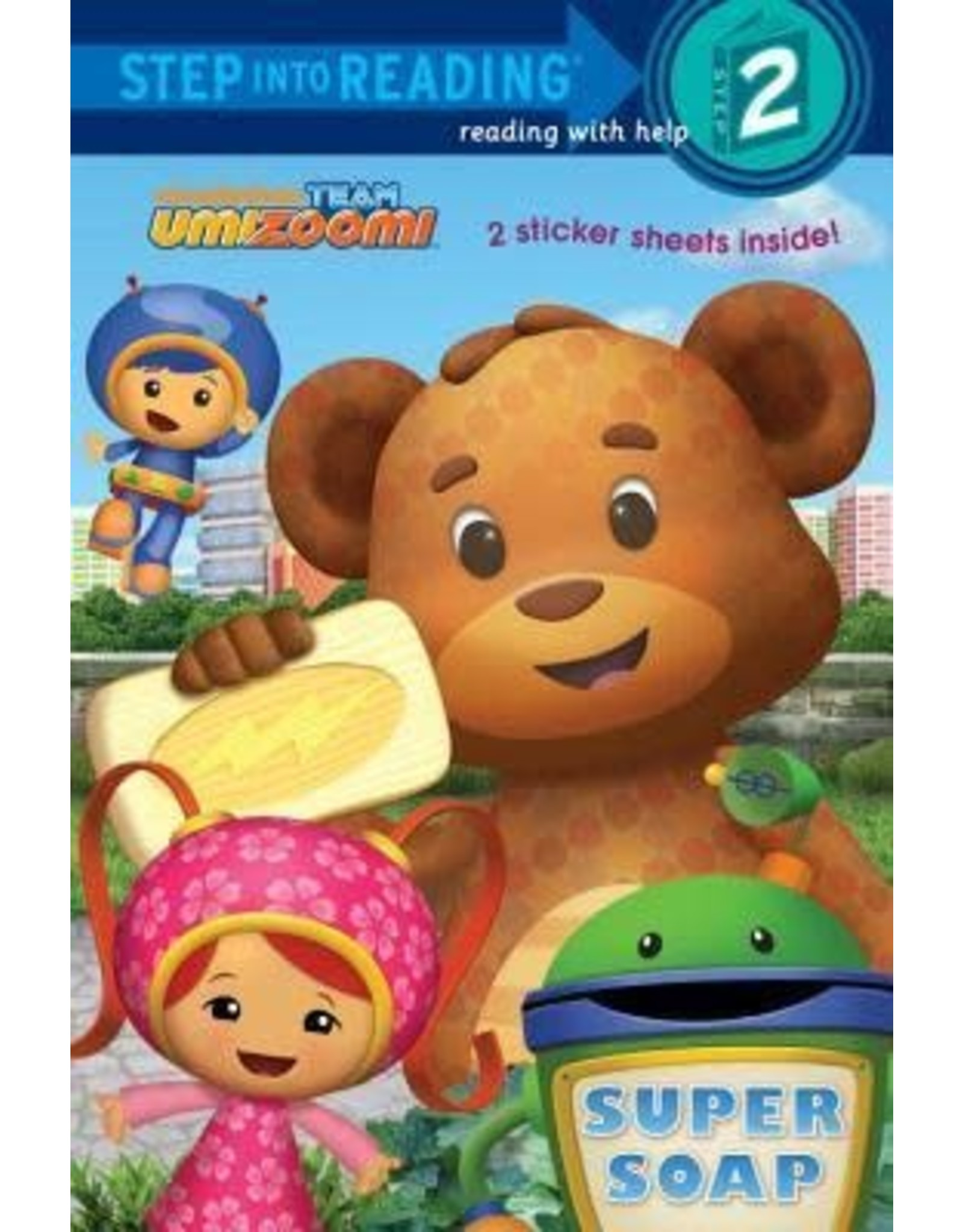 Step Into Reading Team Umizoomi Super Soap S2