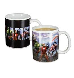 Paladone Marvel Avengers Heat Change Mug