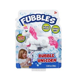 Fubbles Fubbles Bubble Unicorn
