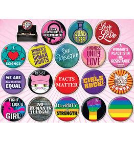 Ata-Boy Activist Buttons
