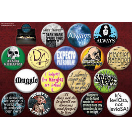Ata-Boy Harry Potter Assorted Buttons